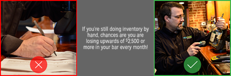 You could be losing up to $2,500 in your bar every month!