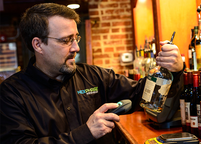 Use Wireless Scanner for Bar Inventory
